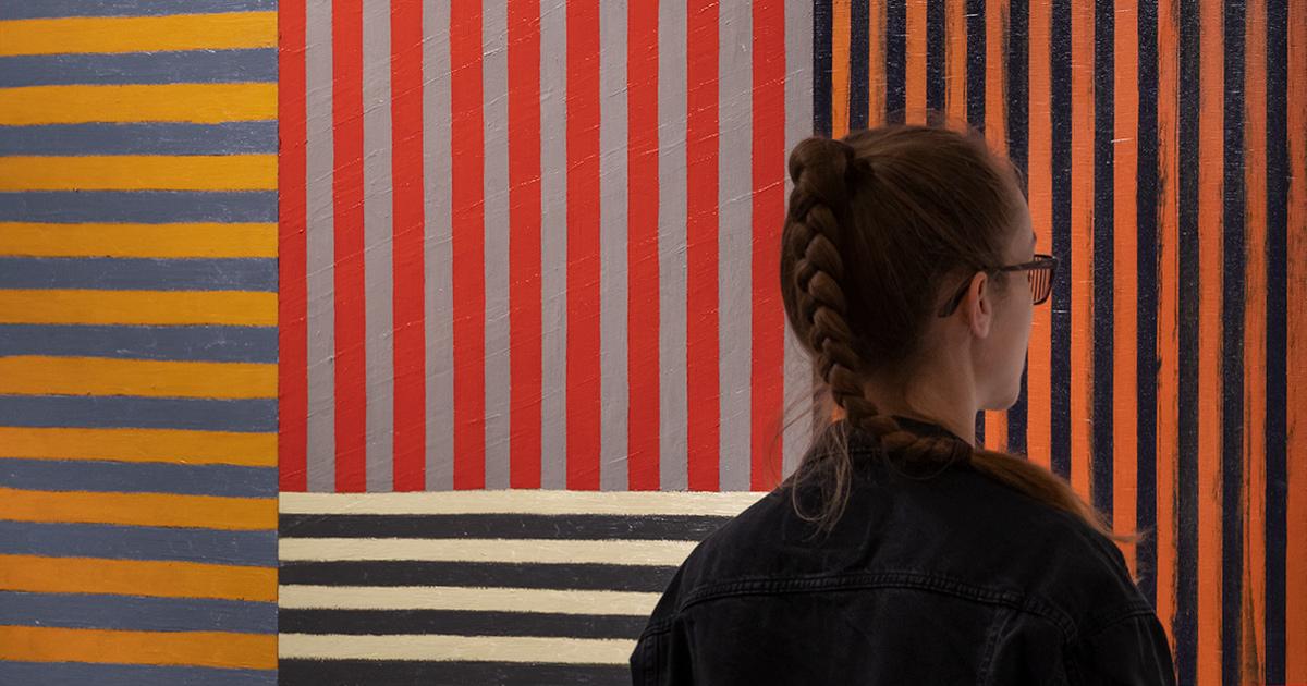 Sean Scully: <em>Átutazó</em> – Retrospektív kiállítás